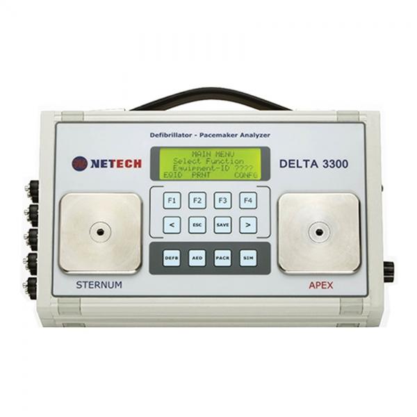 Delta 3300 Defibrillator / Transcutaneous Pacemaker Analyser - Netech Biomedical Instruments - Chivaune Technologies