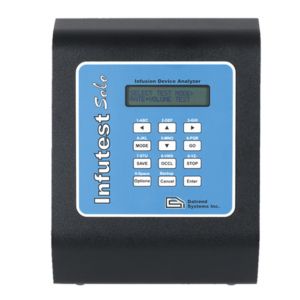 Infutest Solo Single Channel Infusion Device Analyser