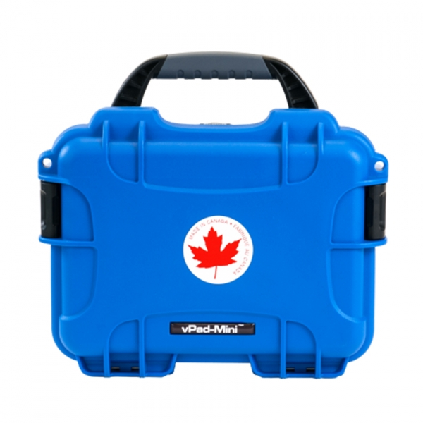vPad-Mini Electrical Safety Analyser compact case - DaTrend Systems Biomedical test instruments and calibration - Chivaune Technologies Australia and New Zealand