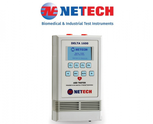 Netech Delta 1600 automated external defibrillator analyser AED
