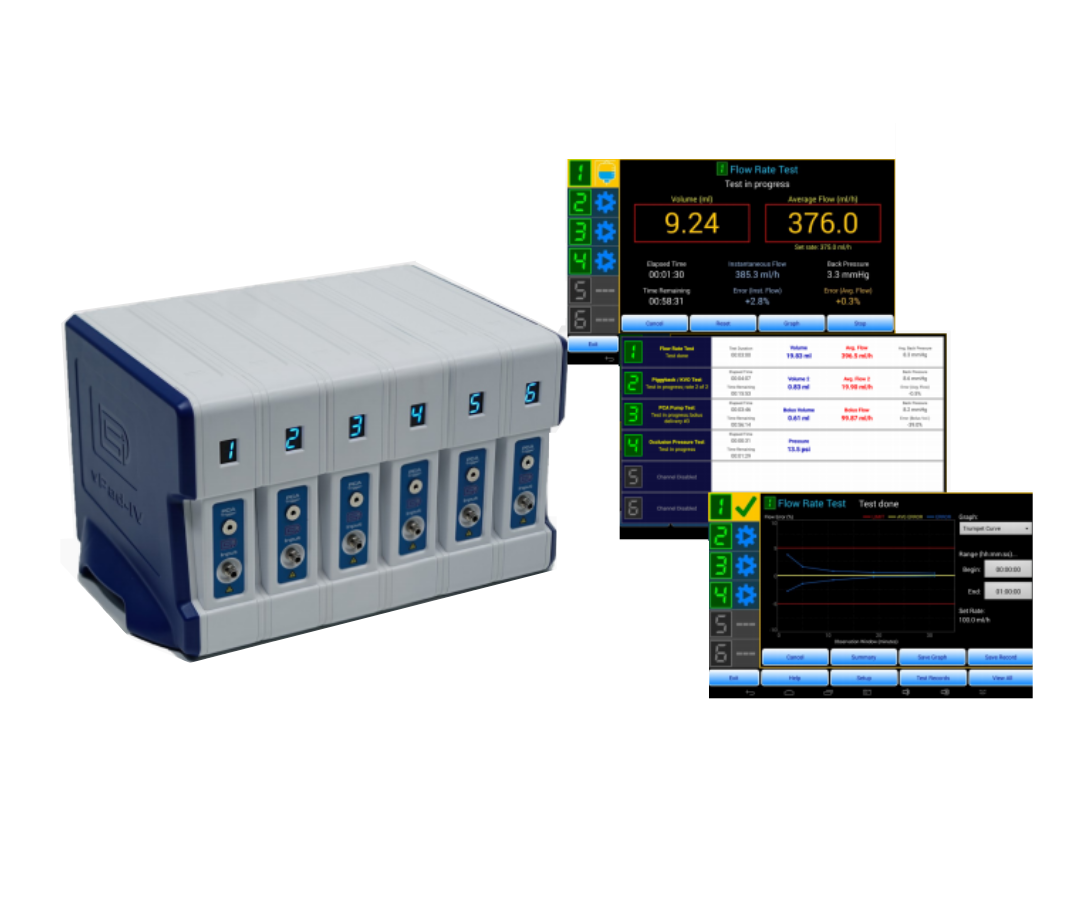Datrend vPad IV - Infusion Device Analyser